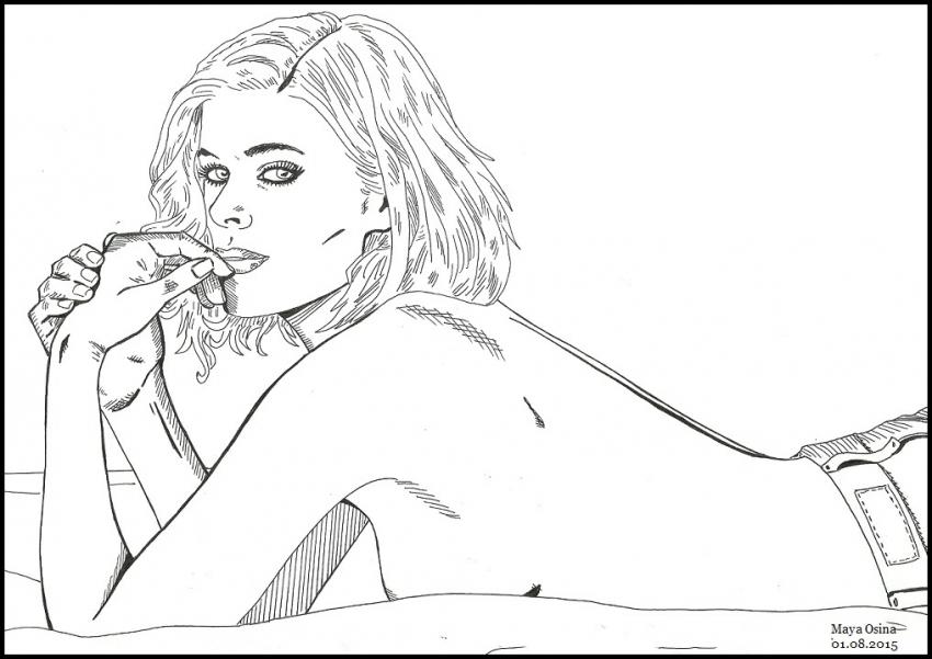 Kate Mara par MayaOsina